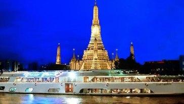 夜遊湄南河豪華遊輪大珍珠號+自助餐套票-2